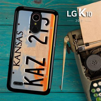 Supernatural License Plate X0204 LG K10 2017 / LG K20 Plus / LG Harmony Case