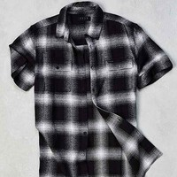 Kr3w Adams Flannel Short-Sleeve Button-Down Shirt