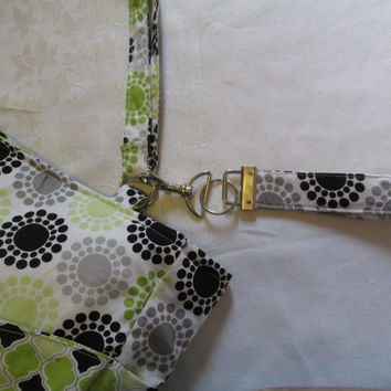The Bow Purse,Lime and Black Purse