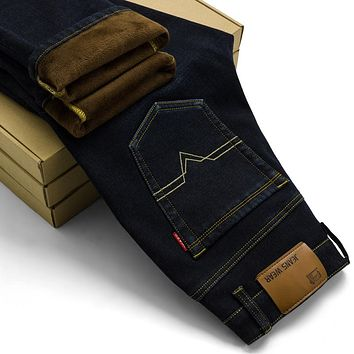 Men's Fleece Lined Jeans