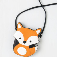 ModCloth Quirky Critter-cal Mass Bag in Fox