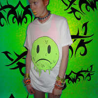 yard666sale UNHAPPY FACE in SLIME yard666sale