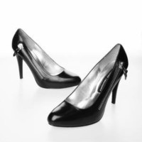 Chinese Laundry Arcane Heel Shoe - Black - Punk.com