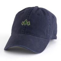 Men's Dad Hat Embroidered Patch Adjustable Cap   null