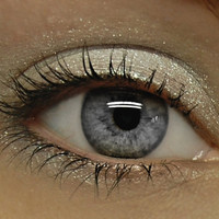 Moving SALE - White Shimmer Eyeshadow - ICE PRINCESS Mineral Eye Shadow - Icy White Sparkle Eye Shadow - Large 10 gram Jar