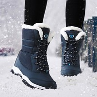 Waterproof Warm Ankle Winter Women Boots