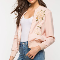 Misha Embroidered Bomber