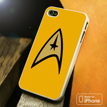 Gold Star Trek Logo iPhone 4(S),5(S),5C,SE,6(S),6(S) Plus Case
