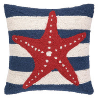 Red Sea Star Hook Pillow