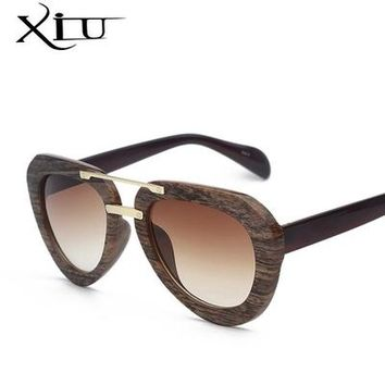 Wood Sunglasses Women Vintage Brand Designer Sun glasses Original D Brands Eyewear Summer Style Luxury Oculos Ladies Gafas