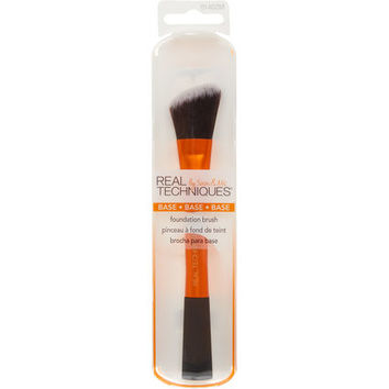 Orange & Black Foundation Brush - Make-up & Nails - Beauty - Women - TK Maxx