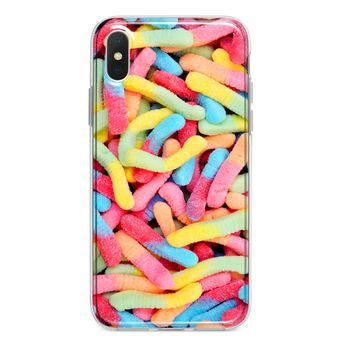 GUMMY WORMS CUSTOM IPHONE CASE