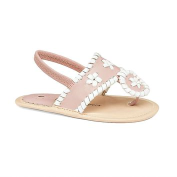 Baby Jacks in Blush / White by Jack Rogers