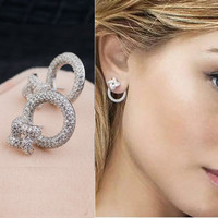 Stylish 925 Silver Fashion Accessory Earrings [7189067399]
