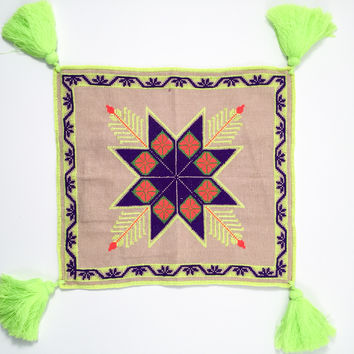 Pillow cover Huichol