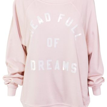 Wildfox Head Full of Dreams Sommers Sweater as seen on Amy The Mermaid