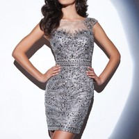 Tony Bowls Shorts TS21467 Fitted Cocktail Dress