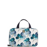 Tory Burch Printed Hanging Zip Cosmetic Case