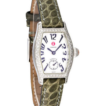 Michele Coquette Diamond Watch