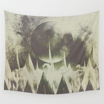 When mountains fall asleep Wall Tapestry by HappyMelvin | Society6