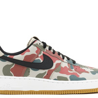 "Air Force 1 07 Lv8 ""camo Reflective"" - Nike - 718152 201 - string/black-white-gum light b 