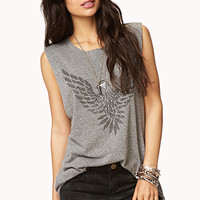 Studded Eagle Muscle Tee