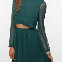 Pins and Needles Cutout Front Tea Dress