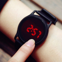 Waterproof Touchscreen Silicone Sports Watch Gift - 517