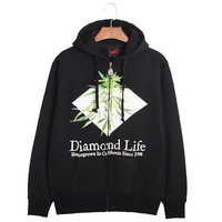 Hip-hop Style Print Stylish Hoodies [6541437891]