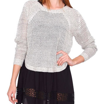 Need You Sweater Top - Beige