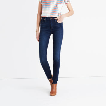 "10"" High-Rise Skinny Jeans in Hayes Wash : 