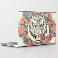 bengal mandala Laptop & iPad Skin by Laura Graves