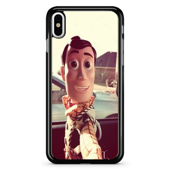 Disneyland Toy Story Woody Selfie 2 1 iPhone X Case