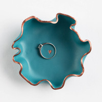 Blue Teal Trinket Dish, Ring Dish, Valentines Day, Jewellery Dish, Trinket Bowl, Jewelry Dish, Jewellery Storage, Gift for Her