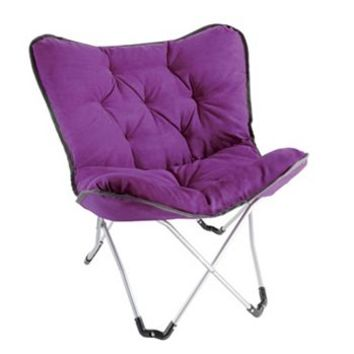 Student Lounge Memory Foam Butterfly Chair