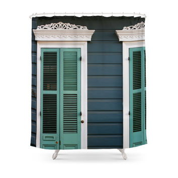 Society6 Creole Cottage Shower Curtain