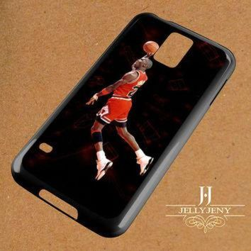 CREYUG7 Michael Jordan Fly Dunk Samsung Galaxy S3 S4 S5 S6 S6 Edge Case | Galaxy Note 3 4 Case