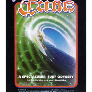 Tales from the Tube Surf Movie Ad Fine Art Print