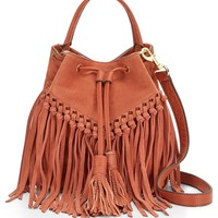 Rebecca Minkoff Rapture Fringe Suede Bucket Bag | Nordstrom