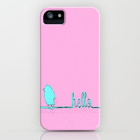 Hello iPhone Case by Ally Coxon | Society6