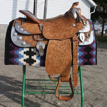 Blue Ribbon Show Saddle 16.5 - Saddle For Sale in Sand Creek, Michigan