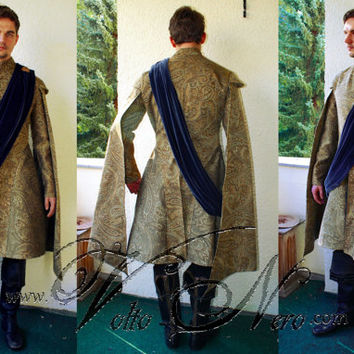 Joffrey Baratheon purple wedding costume Game of Thrones cosplay
