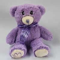 BJS iPhone 5 5S 5C 4S Soft Plush Case, General Cute 3D Teddy Bear Doll Toy Plush Case Cover For Apple iPhone 5 5S 5C 4S with Stylus Pen(Purple)