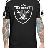 Men's 47 Brand 'Oakland Raiders - Pointman' Graphic T-Shirt,