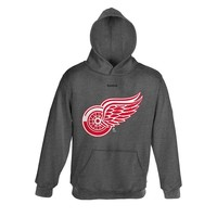 Reebok Detroit Red Wings Promo Fleece Hoodie - Boys 8-20, Size: