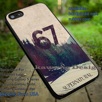 Supernatural Impala Car with Winchester Boys iPhone 6s 6 6s+ 5c 5s Cases Samsung Galaxy s5 s6 Edge+ NOTE 5 4 3 #movie #supernatural #superwholock #sherlock #doctorWho dt