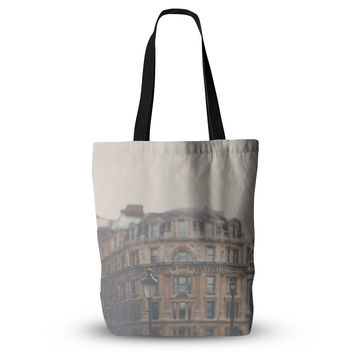 "Laura Evans ""London Town"" Brown Everything Tote Bag"