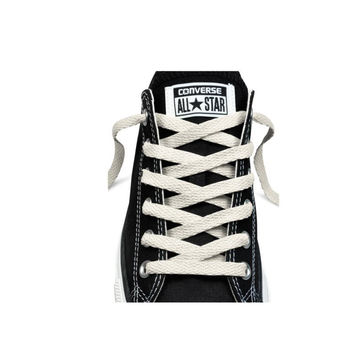 """Converse Unisex Replacement Cord Shoe Laces Flat Style Shoelaces White 45"""" 7 eyelets '"""