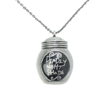 The Nightmare Before Christmas Deadly Night Shade Necklace