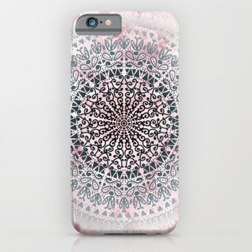 ICELAND MANDALA IN PINK iPhone & iPod Case by Nika | Society6